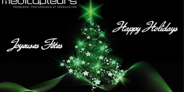 Medicapteurs team wishes you a merry Christmas and a happy new year