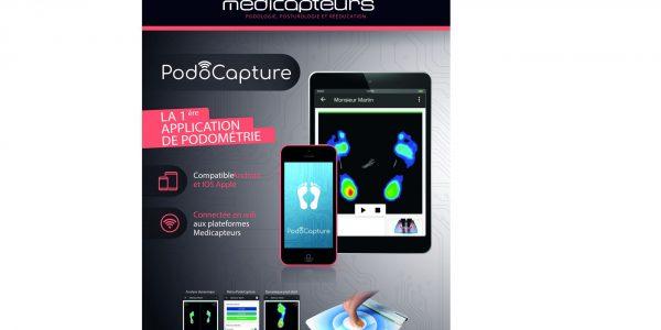 Podocapture: Medicapteurs lance en exclusivité la première application pilotant une plate forme wifi